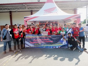 Peserta Kompetisi Safety Riding for Community 2015