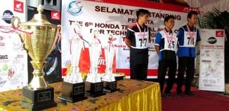 PT Trio Motor Gelar Honda Technical Skill Contest Student 2015