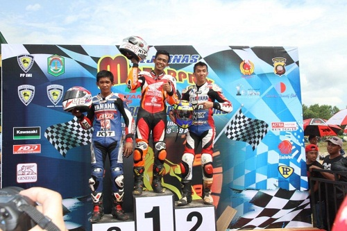 Honda Blade Juara di Regional Kalimantan
