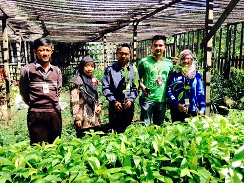Go Green with One HEART di SMKN Pertanian Banjarbaru