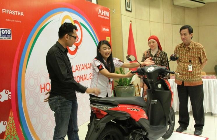 Kontes pelayanan Honda