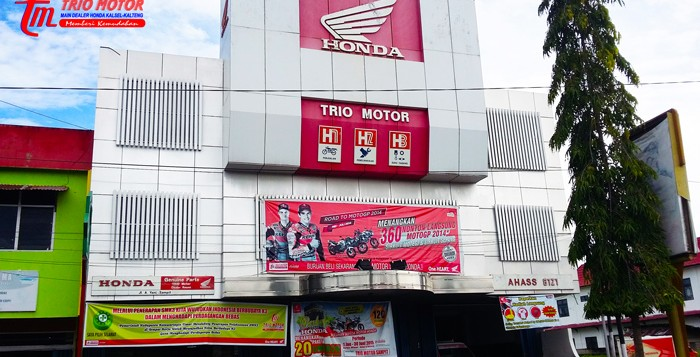 trio motor sampit