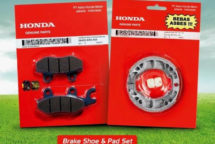 Honda Brake Shoe dan Pad Set