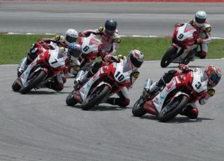 Pebalap AHM di Asia Road Racing Championsip Seri Ketiga