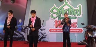 Salah Satu Penampilan Peserta Nasyid di Safari Ramadhan Honda 2015