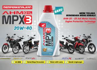 AHM OIL MPX3