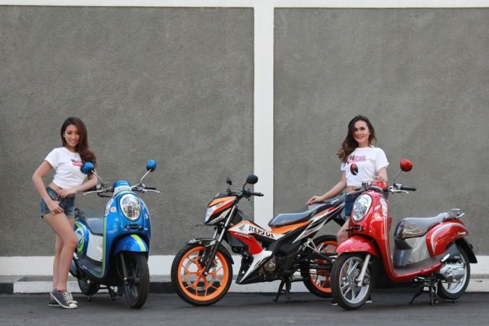 AHM Hadirkan Varian Warna Baru New Honda Sonic 150R dan New Honda Scoopy eSP