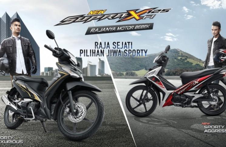 New Supra X 125 FI