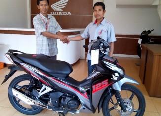 Lagi, Honda Donasikan Sepeda Motor untuk SMK