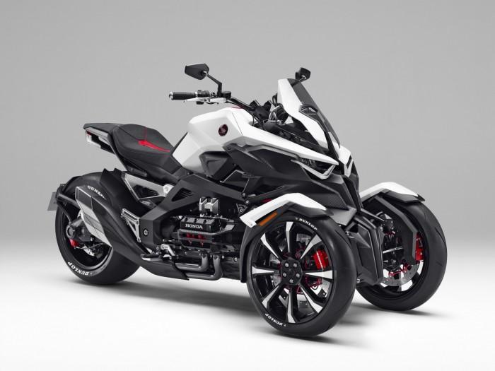 Honda Juga Punya Motor Roda Tiga