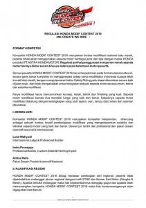 1. Format Kompetisi - Dewan Juri - Klasifikasi Region
