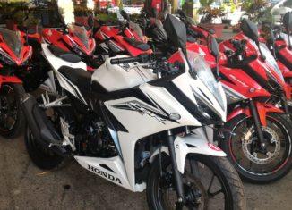 All New CBR 150R Mengaspal di Banua