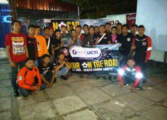 Trio Motor Ajak Komunitas Honda Nonbar dan Sahur on the Road