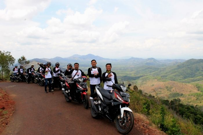 Fun Rally All New Honda Supra GTR 150 Goes to Mandi Angin