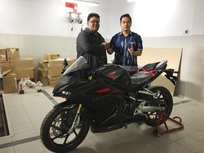 Ananda, Orang Pertama Pemilik All New Honda CBR250RR di Banua