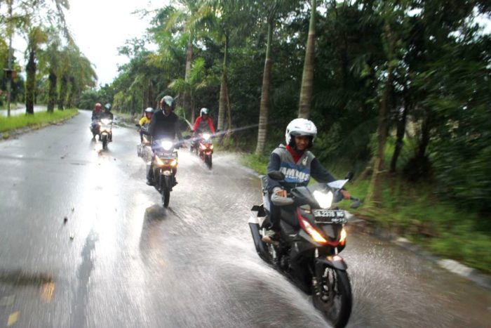 Short Touring Komunitas Honda Bersama All New Supra GTR 150