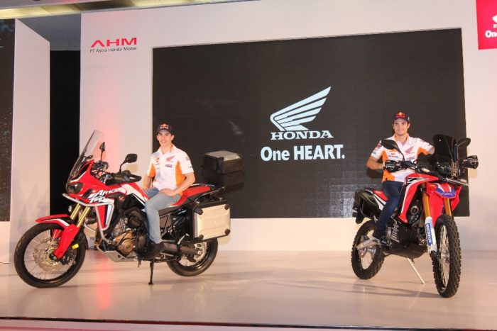 AHM Hadirkan Motor Adventure Tourer Honda CRF1000L Africa Twin dan CRF250RALLY