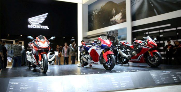 Jajaran Motor Premium Honda di IIMS 2017
