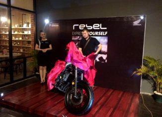 Honda Rebel Diperkenalkan di Banua