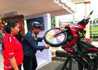 Roadshow New Supra GTR150 Keliling Indonesia