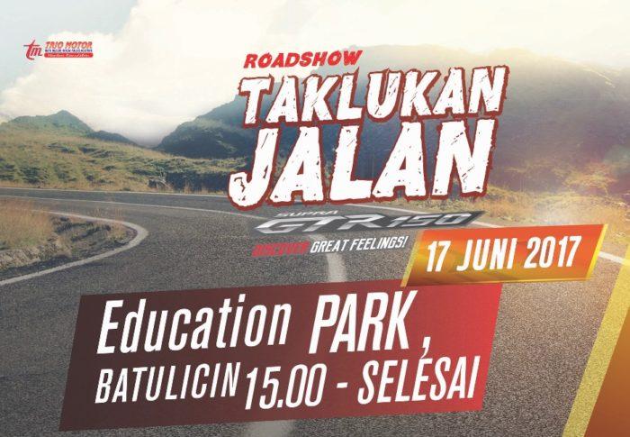 Roadshow Taklukkan Jalan Siap Ramaikan Education Park Batulicin