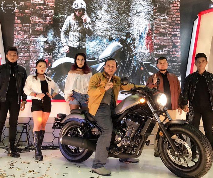Honda CMX500 Rebel Resmi Diperkenalkna di Banua