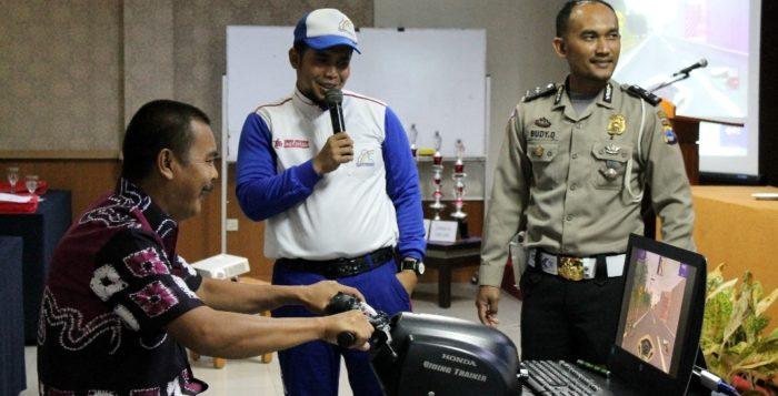 Trio Motor Sosialisasikan Safety Riding Kepada Karyawan Dishub