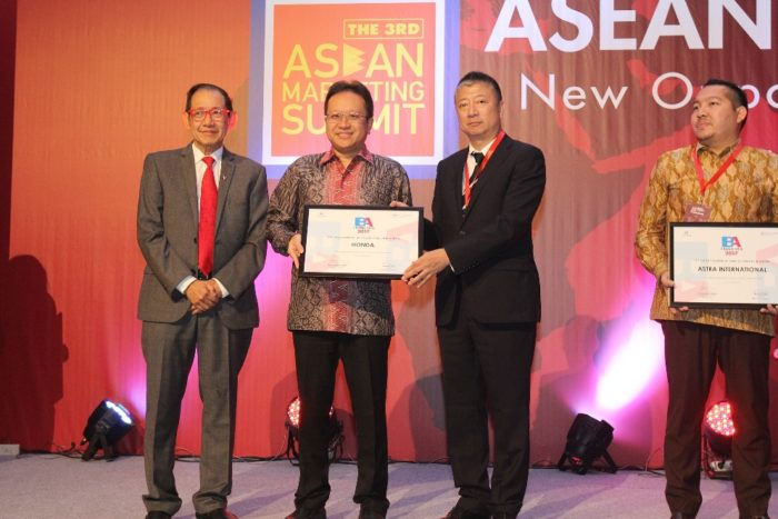 Honda Raih 2 Penghargaan pada The 3rd ASEAN Marketing Summit 2017