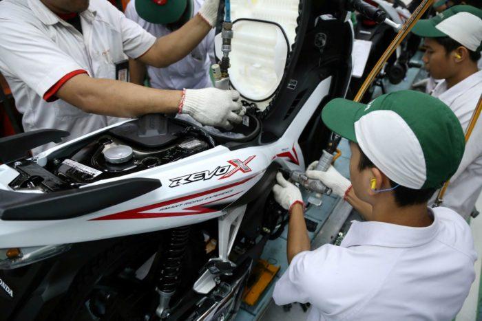 Tampilan Baru New Honda Revo X Makin Agresif