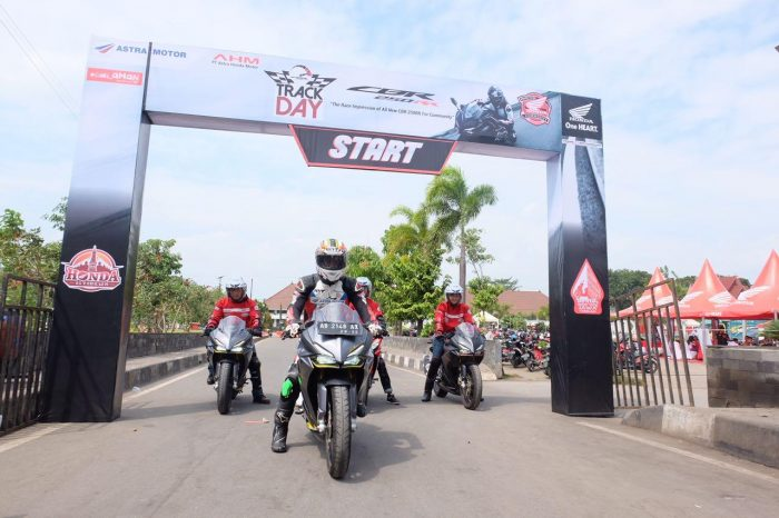 Komunitas Honda CBR Rasakan Perfoma Total Contol di Lintasan Balap