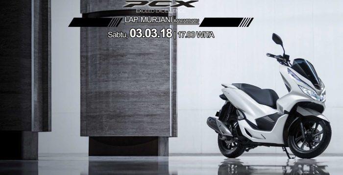 All New Honda PCX 150 Siap Diperkenalkan di Lapangan Murjani