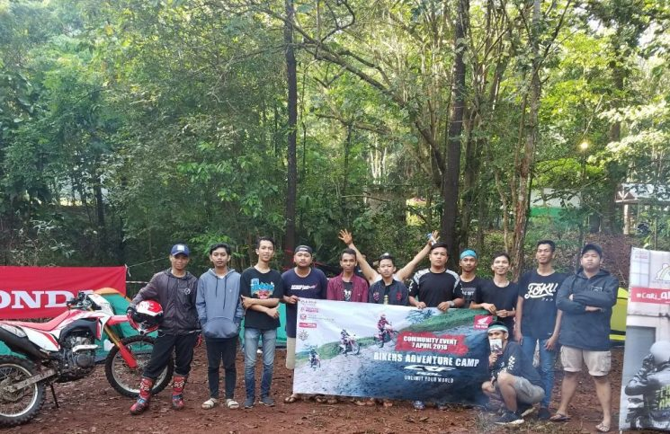 Trio Motor Biker Adventure Camp 2018 Jelajah Tahura Sultan Adam