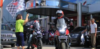 "Honda Big Bike Tour De Borneo ""Goes to Serawak"""