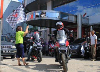 "Honda Big Bike Tour De Borneo ""Goes to Serawak"""
