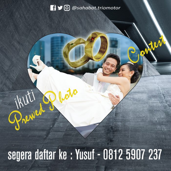 Trio Motor Prewedding Photo Contest
