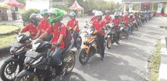 Honda GTR 150, Jelajah Kota Palangkaraya Bersama Konsumen dan Komunitas