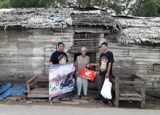 """Komunitas Motor Honda, Berbagi di Ajang """"Brotherfood"""" Gathering"""