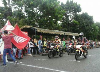 "Honda Ajak Pecinta Balap ""NgabubuRide"" Pakai GTR 150"