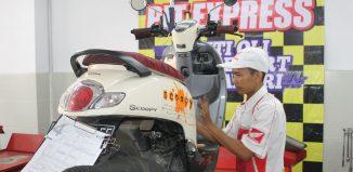 Service Motor Honda Menjelang Lebaran Meningkat
