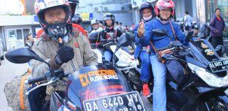 Komunitas dan Konsumen Honda PCX, Jelajah Pesisir Kalimantan Selatan