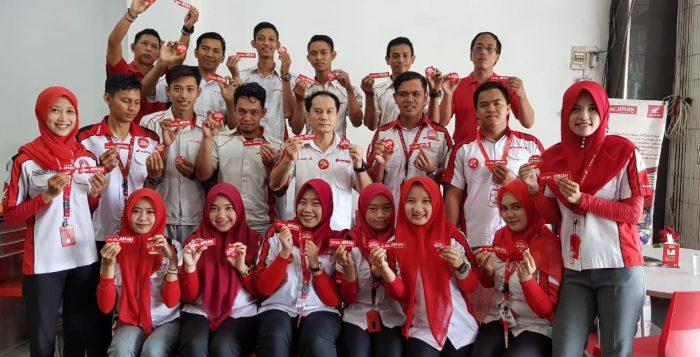 Ajak Karyawan Pakai Jaket & Helm, Pimpinan Dealer Sosialisasikan #Cari_Aman