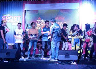 Honda Sport Motoshow, Hebohkan Kota Palangkaraya