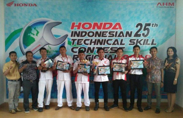 Trio Motor Gelar Kontes Mekanik Honda Se-Kalselteng