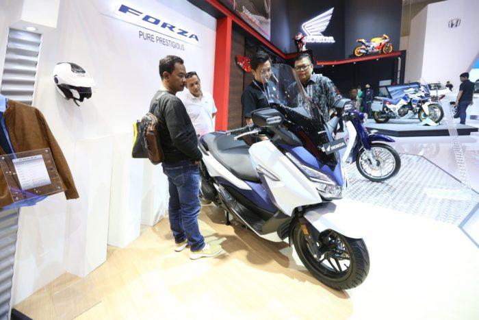 AHM Luncurkan Honda Forza Sebagai Ikon Kebanggaan Skutik Besar