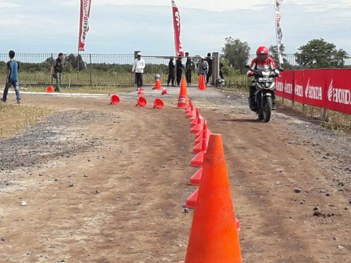 Gymkhana Competition Meriahkan HDC Palangkaraya