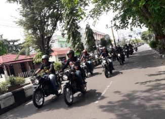 "PT Trio Motor Gelar ""Bike Packer"" Touring Bersama Komunitas Motor Honda Sampit"