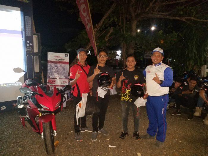 Trio Motor Kampanyekan Keselamatan Berkendara Kepada Komunitas CBR Kalselteng