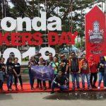 "Komunitas Honda ""GAS"" ke Honda Bikers Day Samarinda"