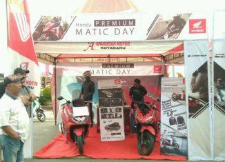 Honda Premium Matic Day Siap Ramaikan Duta Mall Banjarmasin