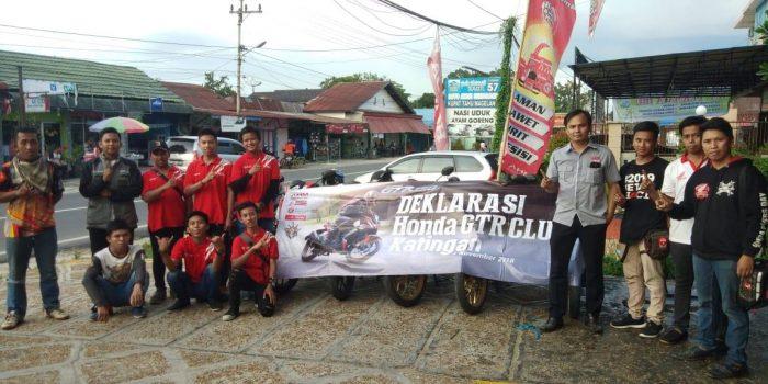 """Komunitas Honda GTR Katingan Resmi """"Mengaspal"""" Bersama PT Trio Motor"""